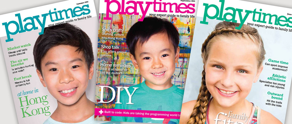 Playtimes HK - cover shots
