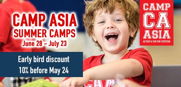 Camp Asia discount